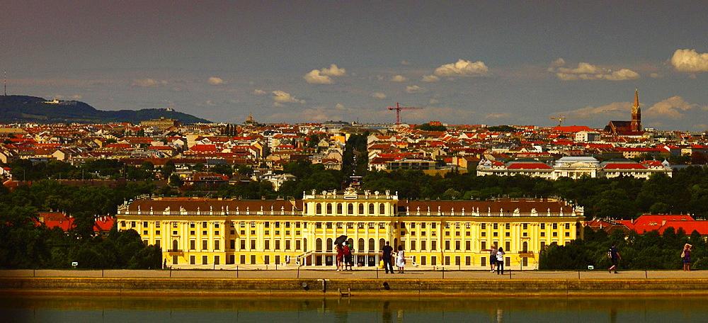 Schloss Schoenbrunn Palace, Vienna, Austria