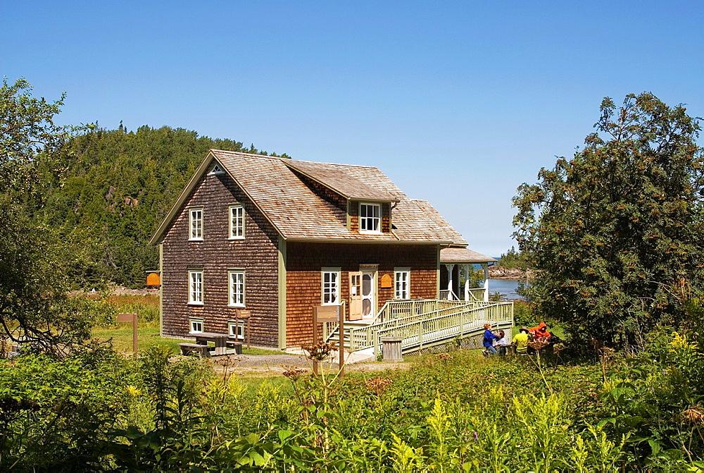 Rioux farm, Bic National Park, Quebec province, Canada, North America