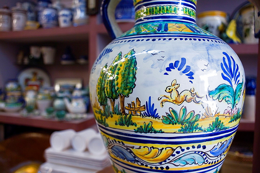 Ceramica Rocio,Workshop and store Calle Antillano Campos 8 Triana quarter,Sevilla,Spain