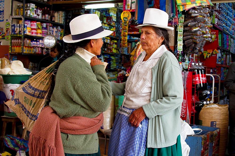 Ecuador, Cuenca, Central market.