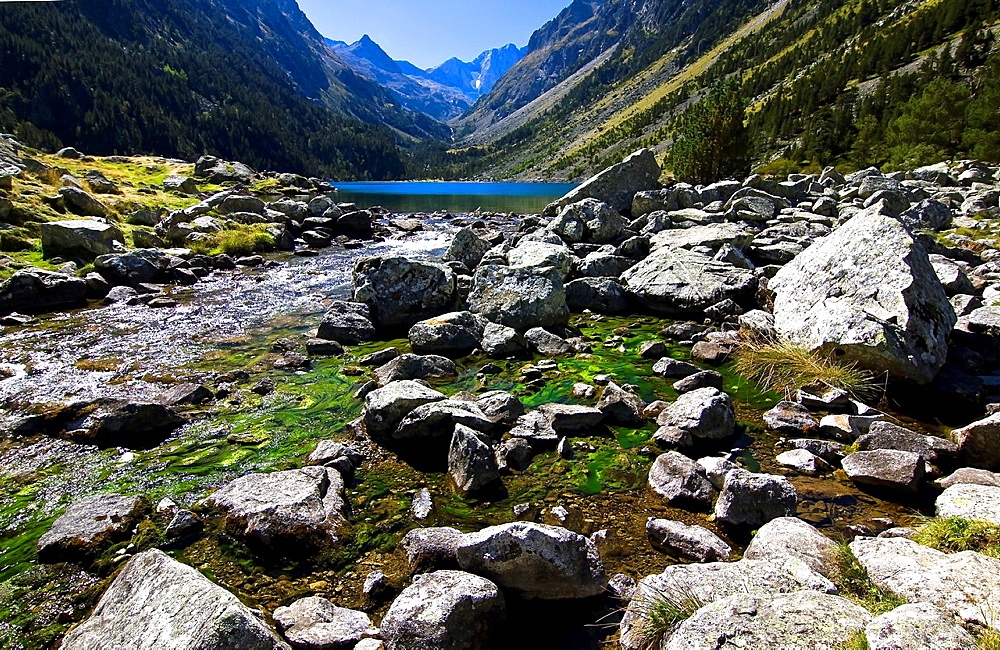 Lake Gaube, Vignemale, Gaube Valley, Cauterets, Aquitaine, Hautes Pyrenees, France, Europe