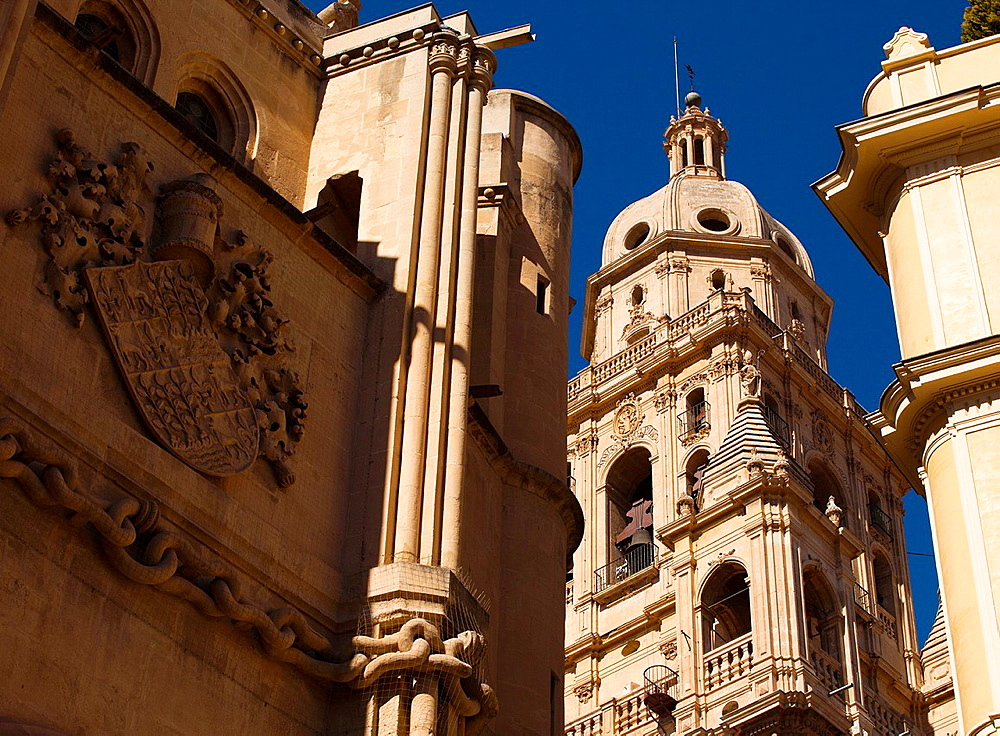 Bell Tower, Cathedral of Saint Mary, City of Murcia, South Eastern, Spain, Europe