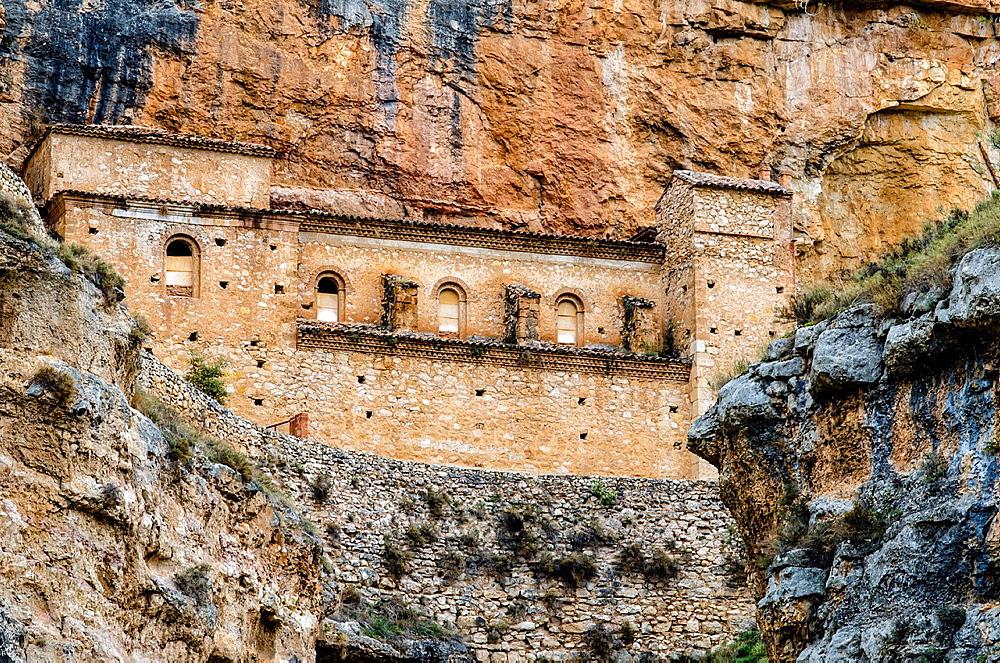 Rio Mesa canyon, Jaraba, Calatayud, Aragon, Spain