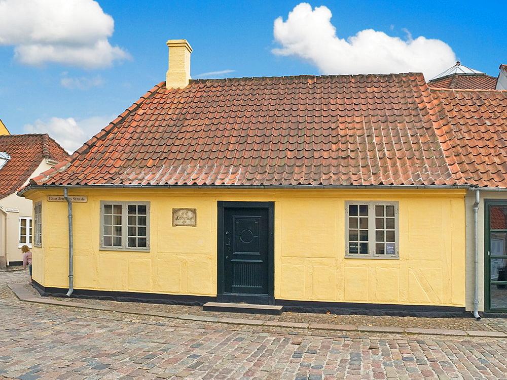 Birthplace from the writer Hans Christian Andersen, Odense Municipality, Region Syddanmark, Funen island, Denmark, Europe