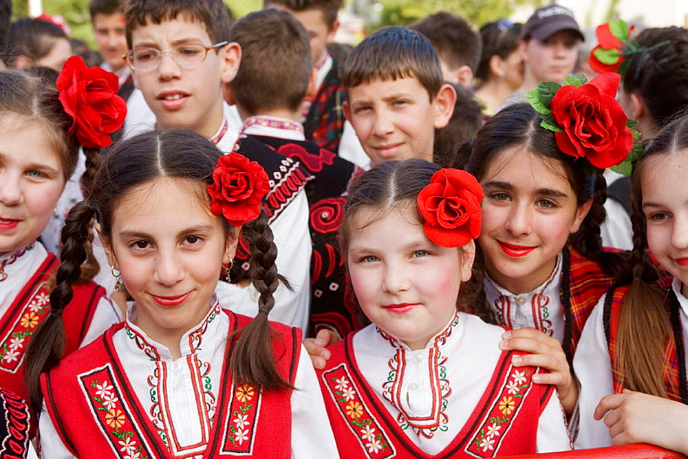 Festival of the Roses, Kazanlak, Bulgaria.