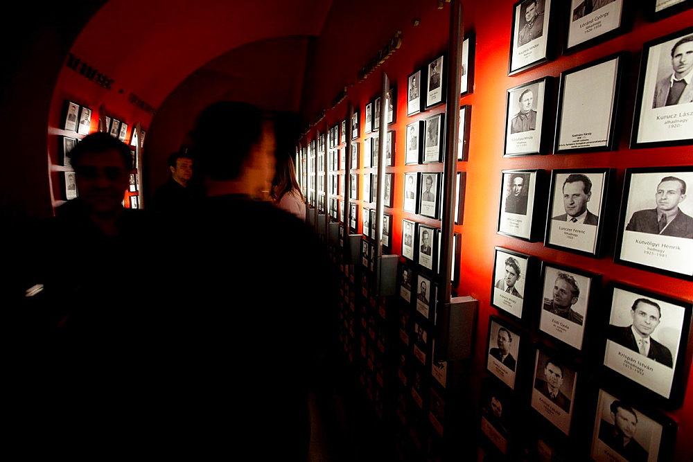 House of Terror, Human Rights Museum at former headquarters of Hungarian Secret Police. Budapest, Pest, Hungary, East Europe, Europe