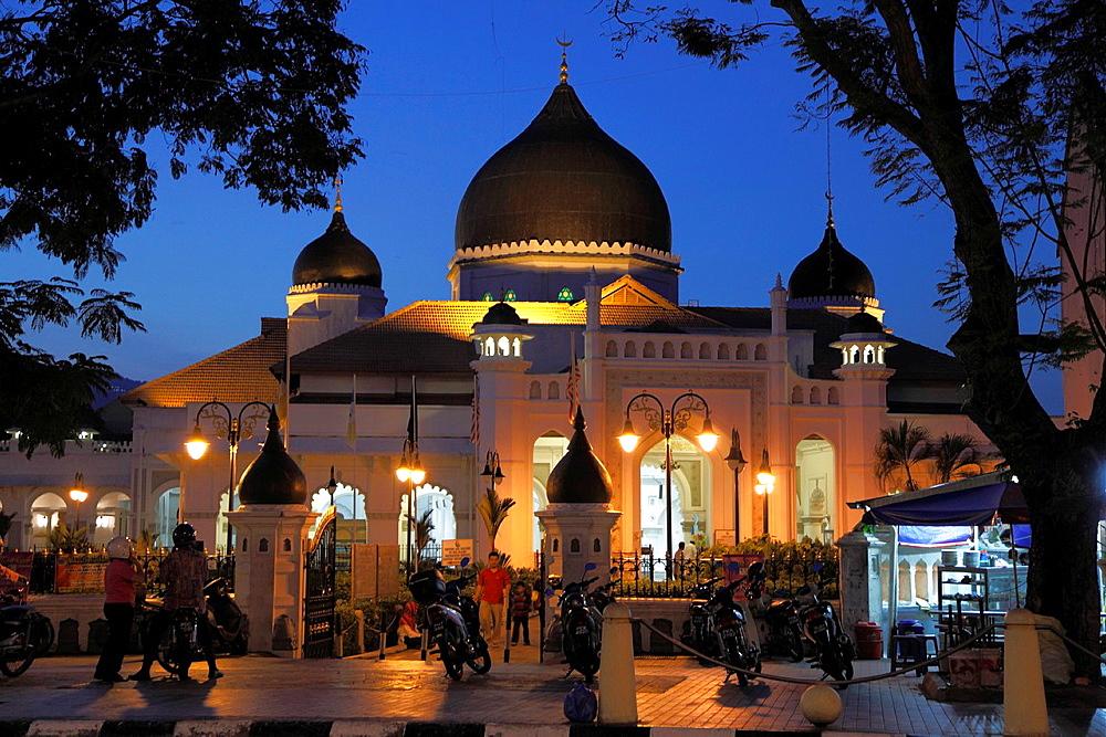 Malaysia, Penang, Georgetown, Masjid Kapitan Keling, mosque,