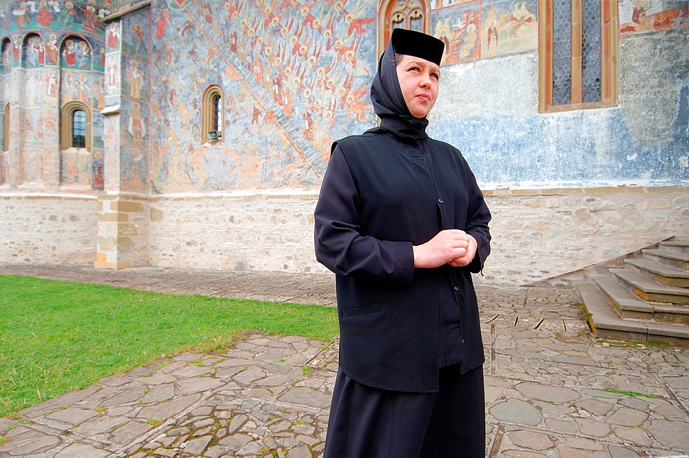 Sucevita Monastery, Suceava, Bukovina, Romania
