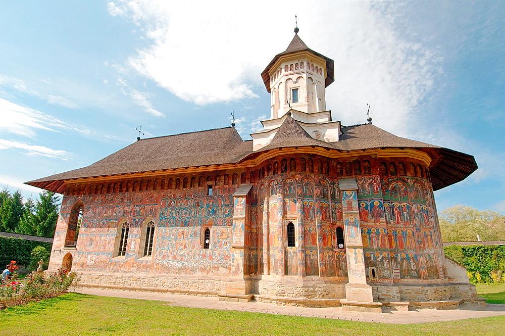 Voronet Monastery, Gura Humorului, Bukovina, Romania