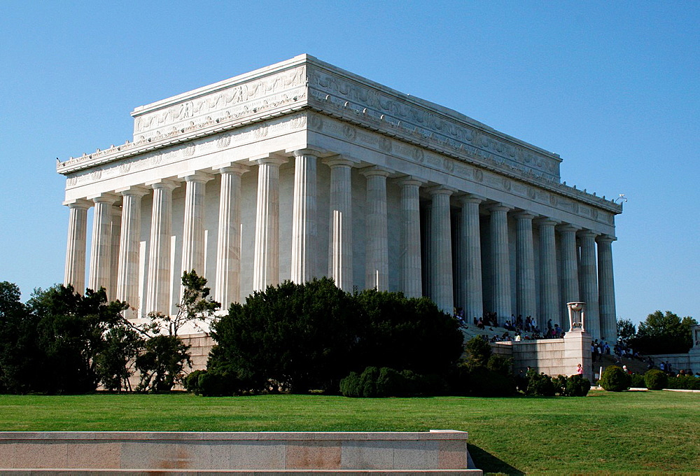 The historic Lincoln Memorial, Washington, DC