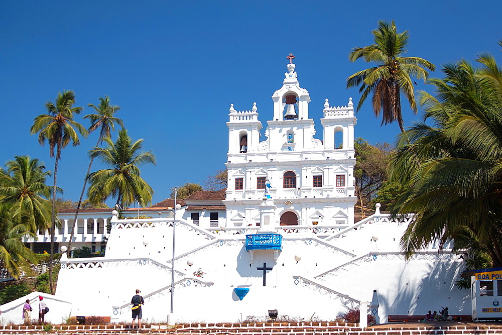 India, Goa State,Panjim City ,Church of Our Lady of Immaclate Conception