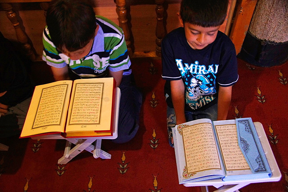 Koran school at Lala Mustafa Passa Camii mosque from 1563, Erzurum, Anatolia, Turkey