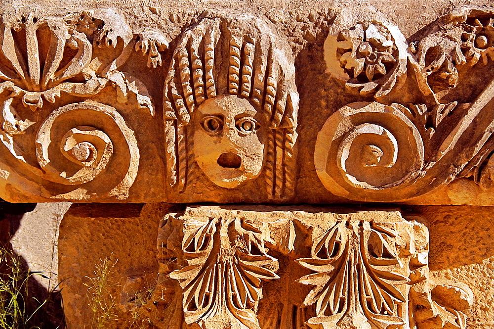 Bas relief at Myra (4th century BC), Turkey