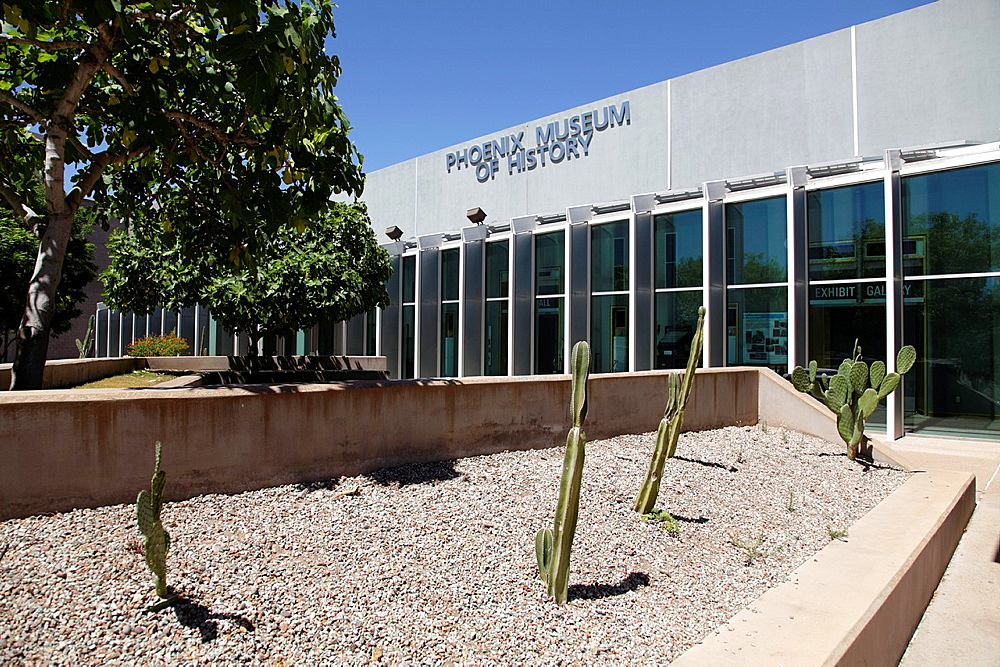 Phoenix Museum of History in Heritage and Science Park  Downtown Phoenix  Arizona  USA.
