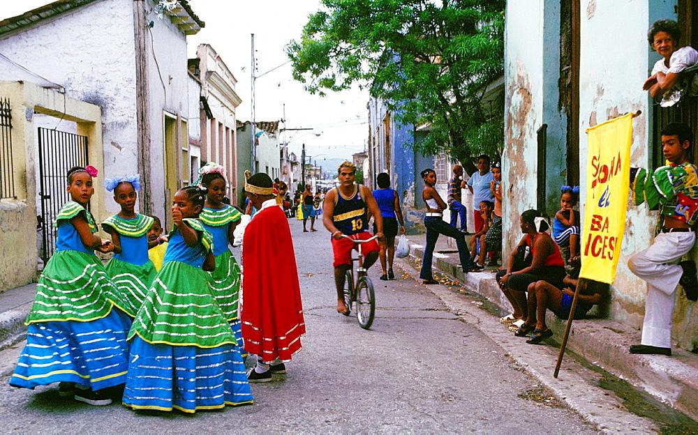 Street Carnival in Santiago de Cuba