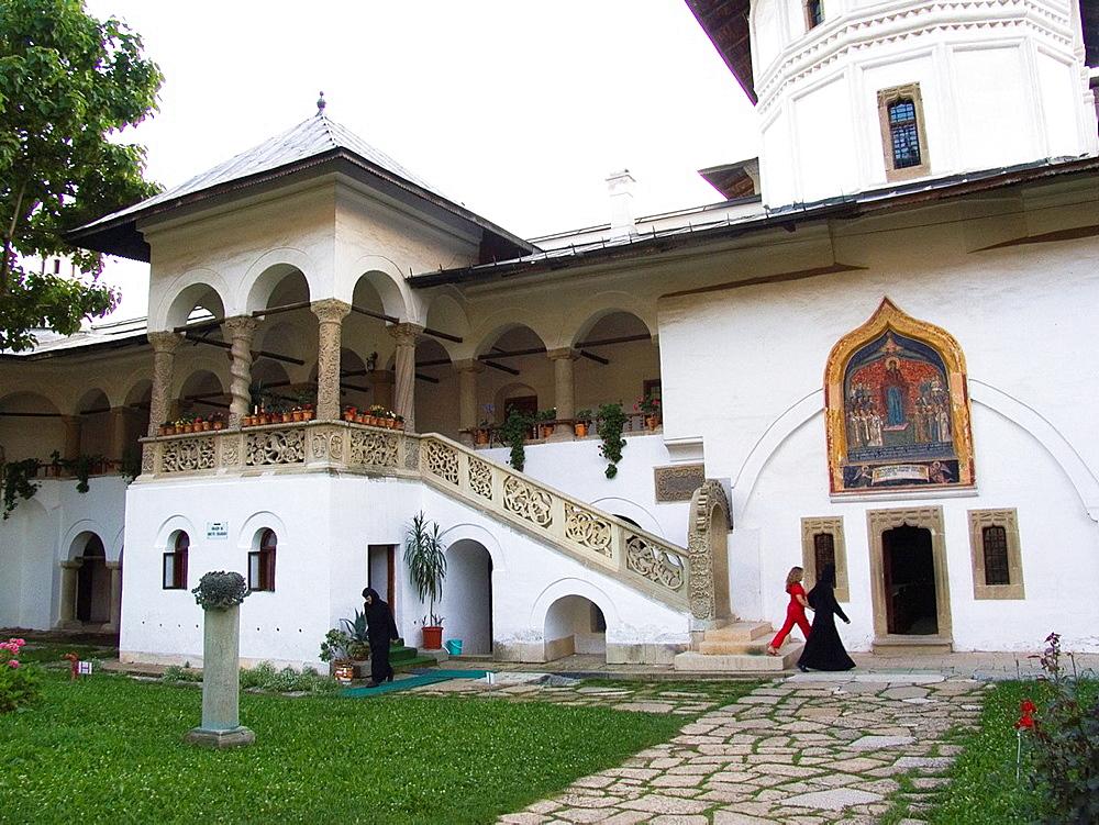 Europe, Romania, Walachia, Horezu Monastery.
