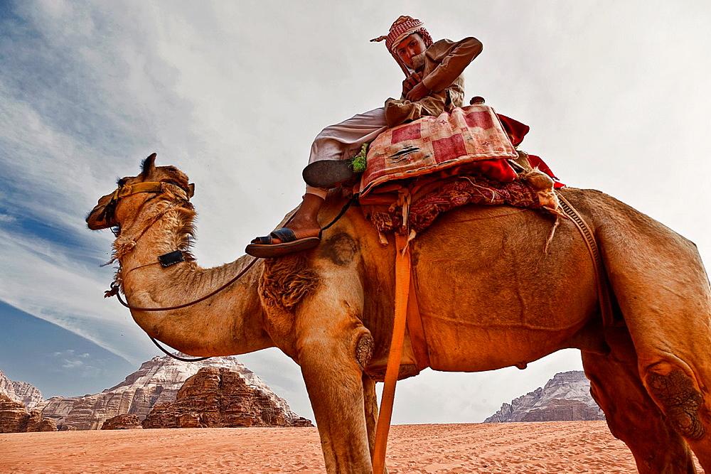Wadi rum desert. jordan.