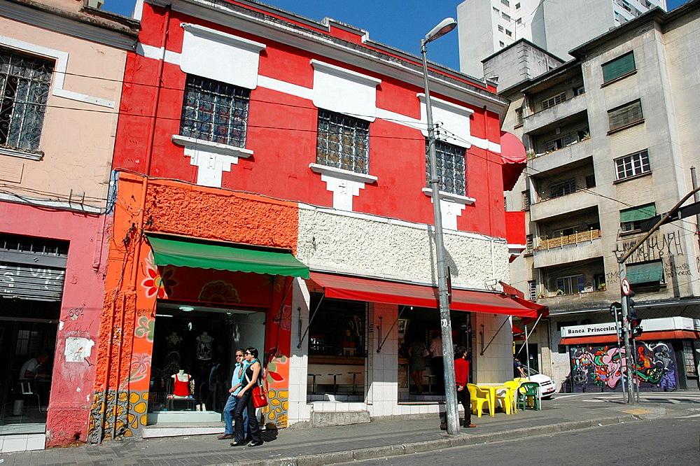 Sao Paulo, Brazil, Rua Augusta