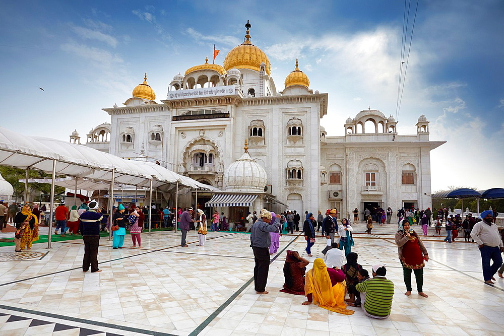 Sikh Temple, New Delhi, India.