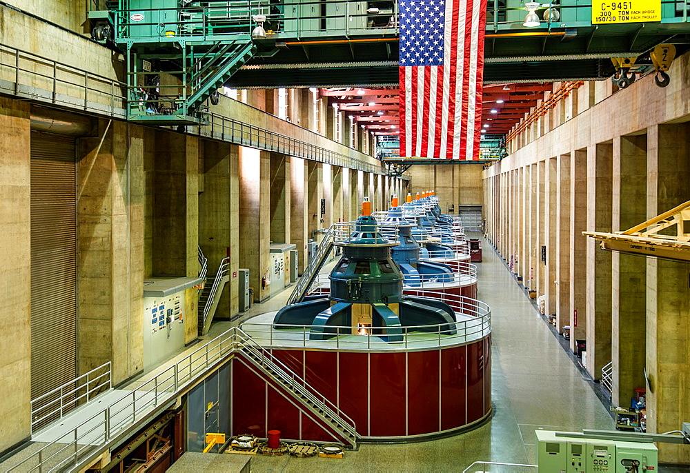 Hoover Dam generators.