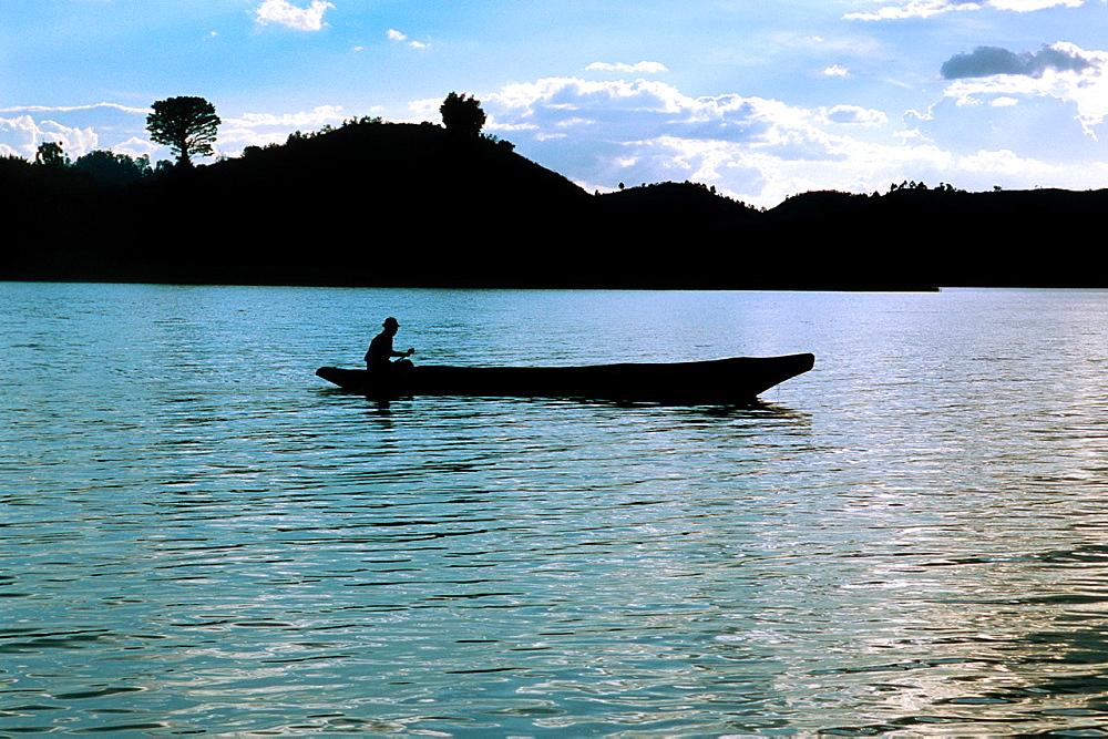 Lake Mutanda, Uganda.