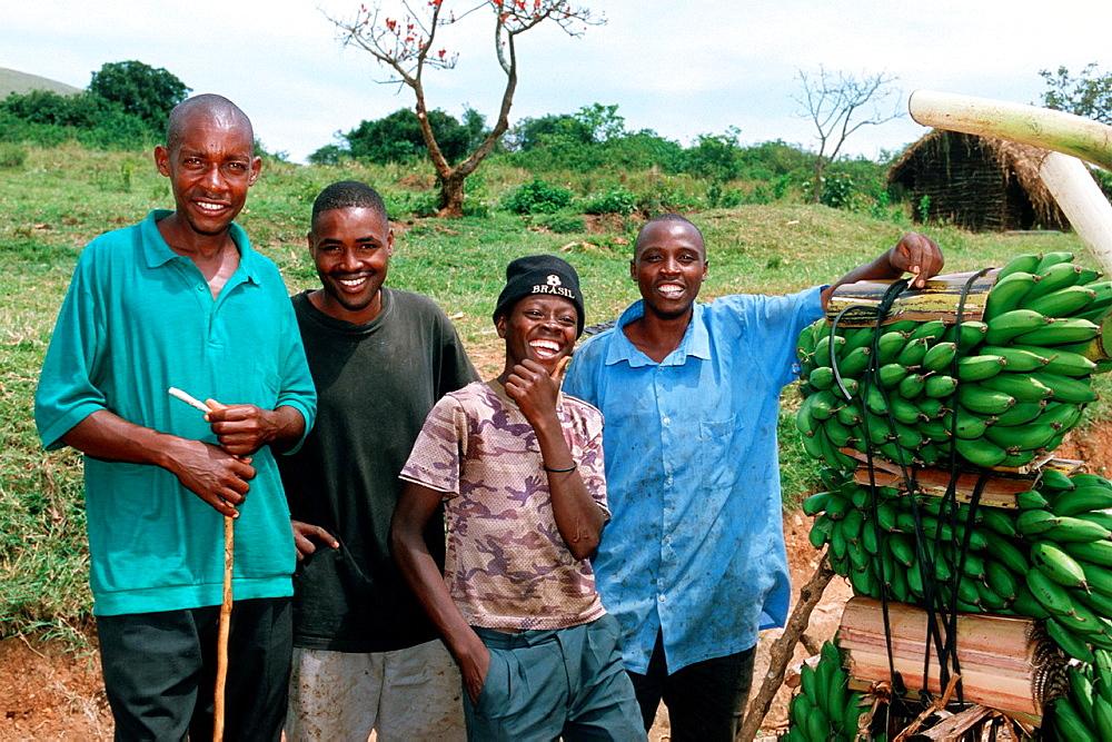 Local People, Banana Tree, Uganda.