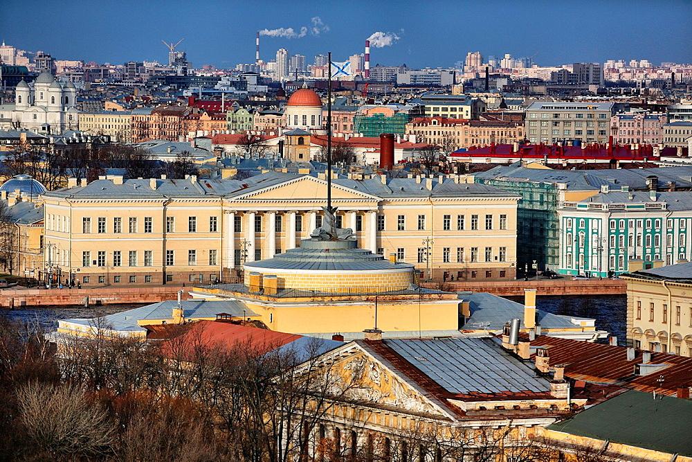 Saint Petesburg buildiings, Russia
