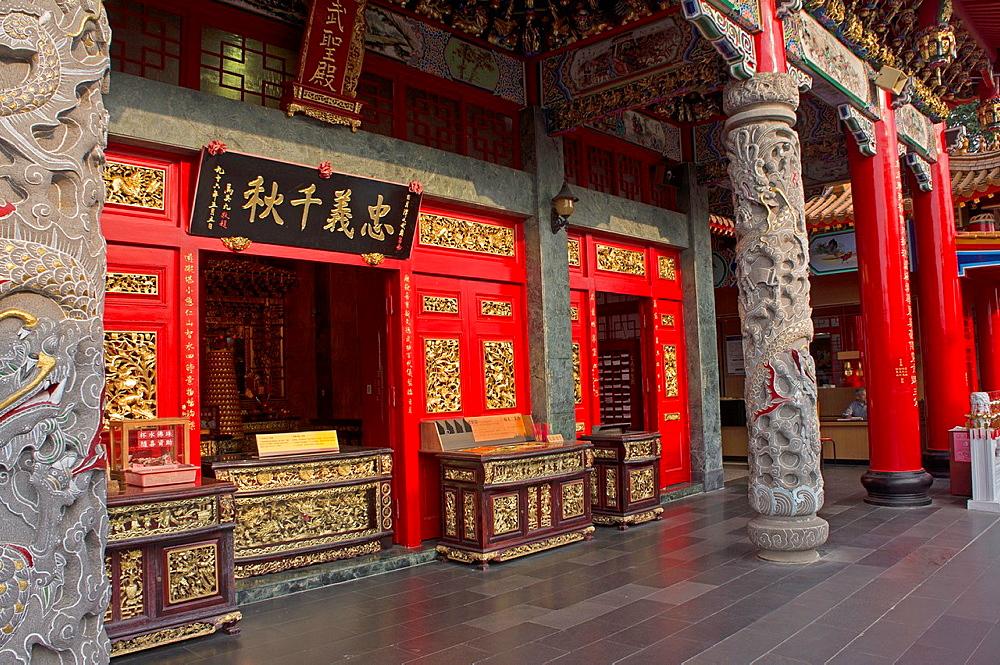 WenWu Temple, SunMoon Lake, Taiwan.