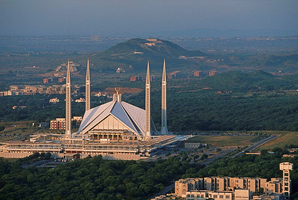 Pakistan, Punjab Region, Islamabad, Shah Faisal Mosque