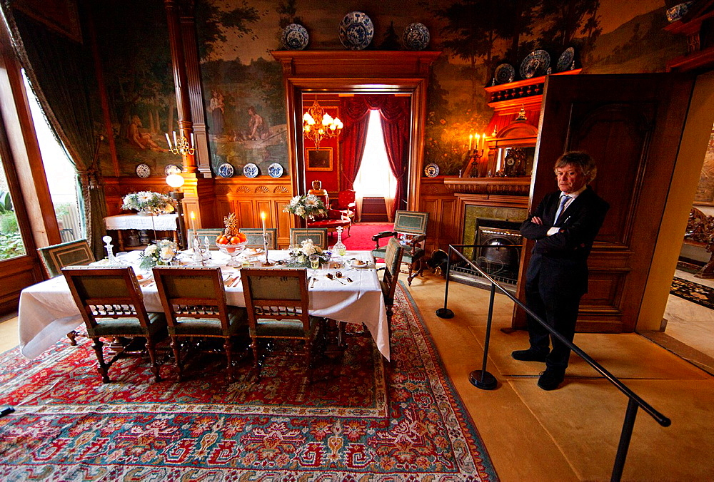 Home Of Gijn' Is A Museum In Holland. Gijn Was Rich A Trader During The Golden Age.