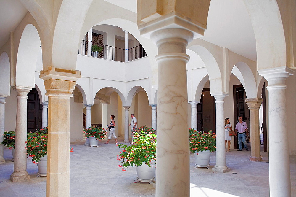 Carmen Thyssen Museum, Malaga, Andalucia, Spain.