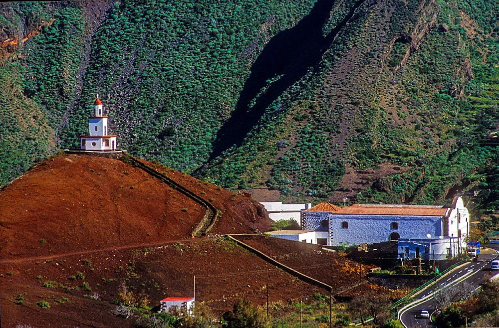 Nuestra Senora de la Candelaria church, El Hierro, Canary Island, Spain, Europe.