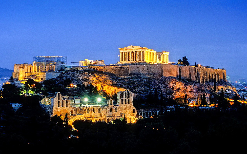 Acropolis, Athens, Greece, Europe.