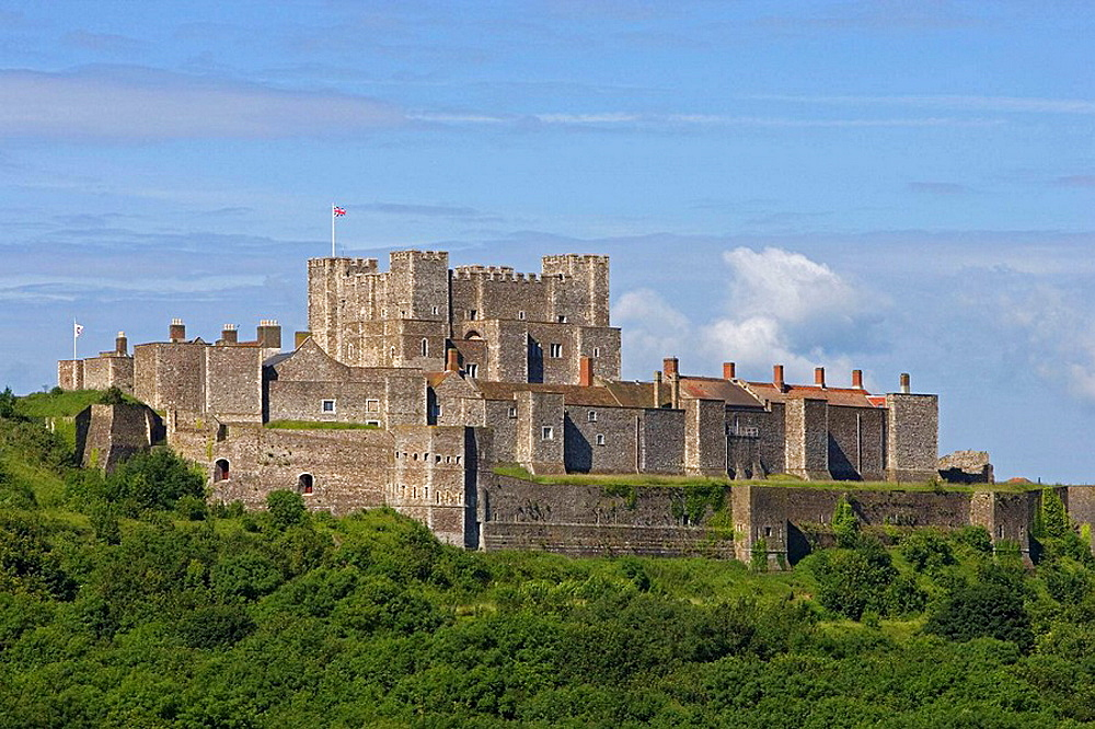 Dover, Castle, Kent, UK
