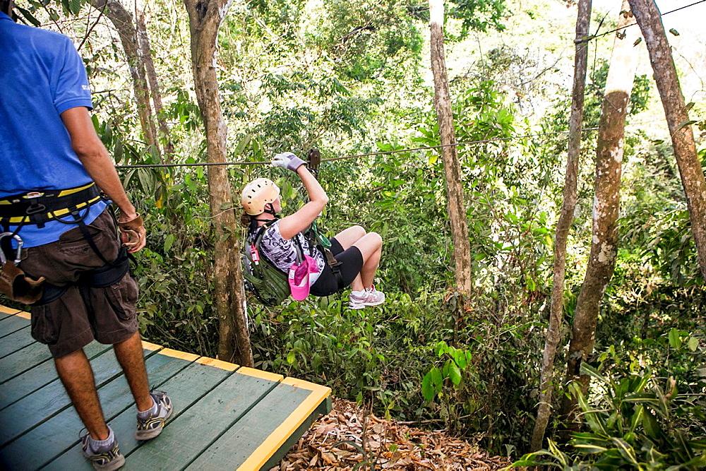 Zip Line Tour, Montezuma, Costa Rica. - 817-447815
