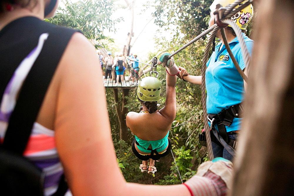 Zip Line Tour, Montezuma, Costa Rica. - 817-447817