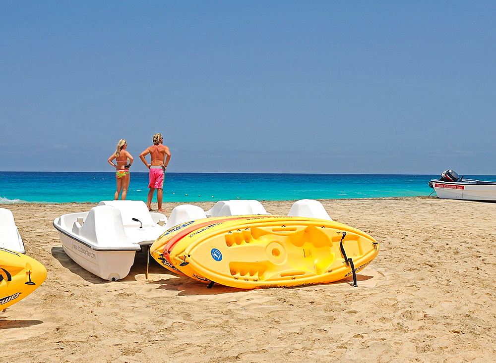 Punta Preta beach Santa Maria Sal Cape Verde.