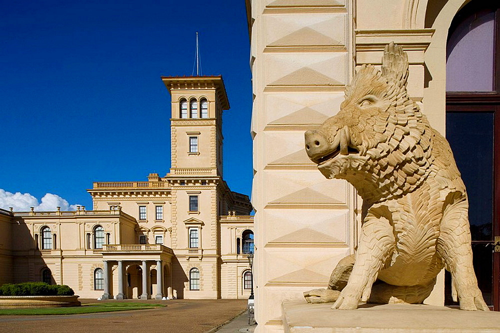 Isle of Wight, Cowes, Osborne House, Hants, Hampshire, UK