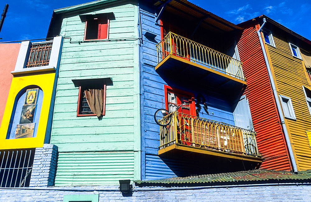 Caminito street. Boca district, Buenos Aires. Argentina - 817-449040