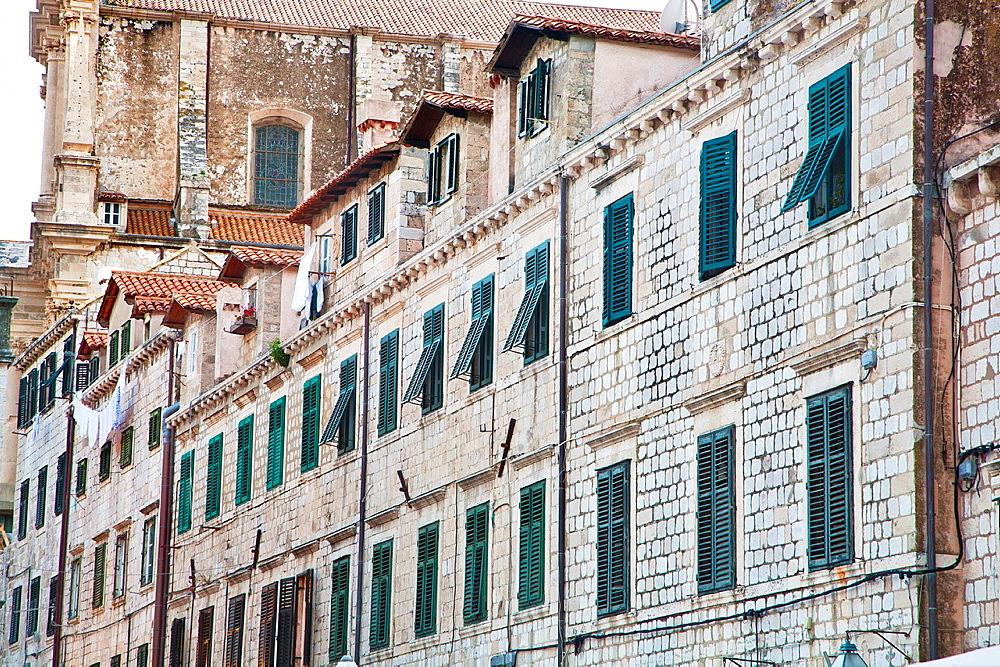 Gundulic Square, Dubrovnik, Dalmatia, Croatia, Europe.