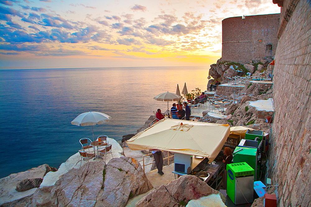Fort of St John. Dubrovnik. Croatia.