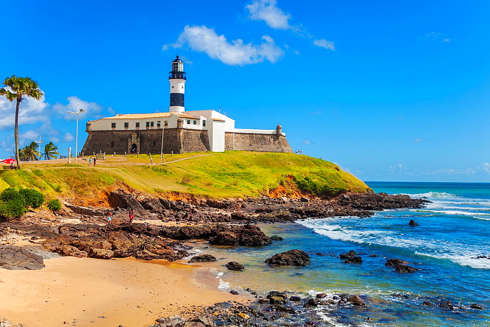 Farol da Barra lighthouse, Salvador, Bahia, Brazil - 817-449784