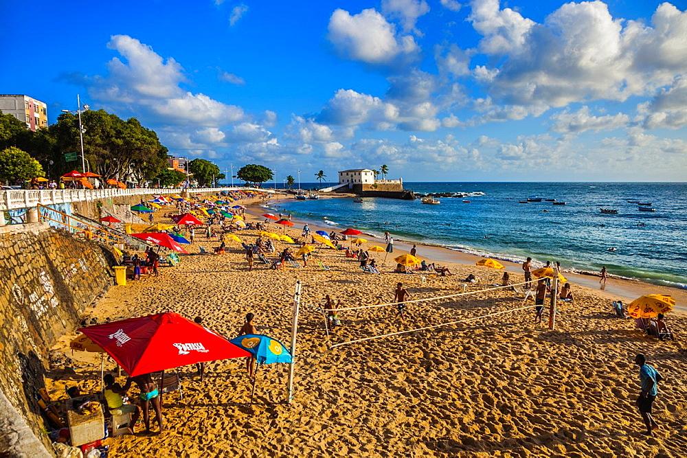 Porto da Barra beach, Salvador, Bahia, Brazil.