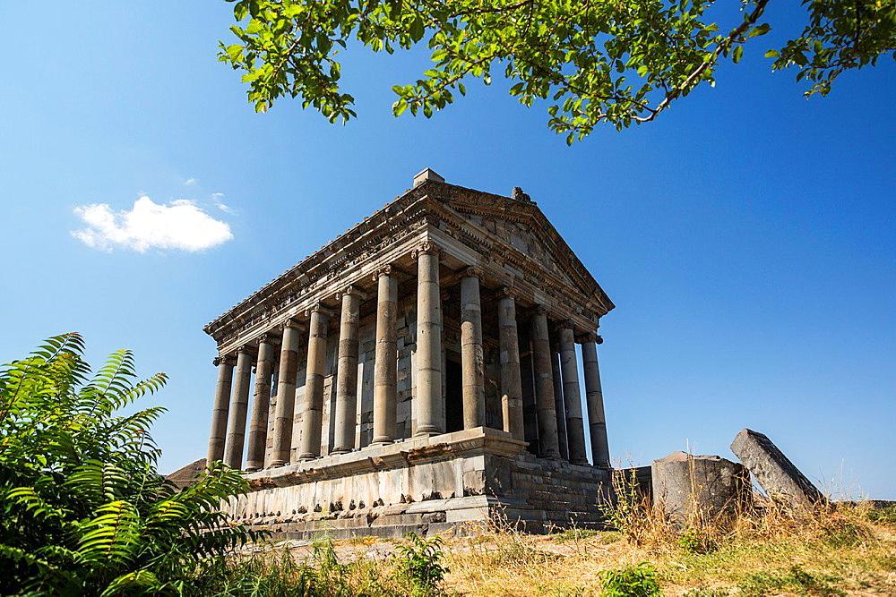Armenia, Garin City, Garin pagan Temple.