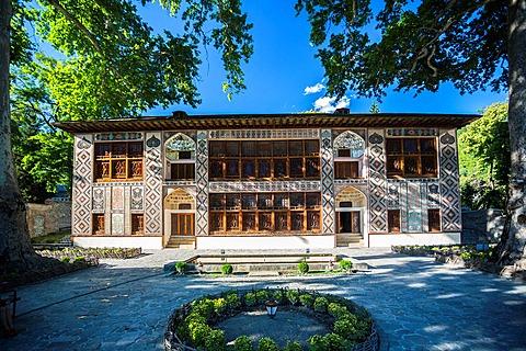 Azerbaijan ,Sheki City, Xan Khan Palace.