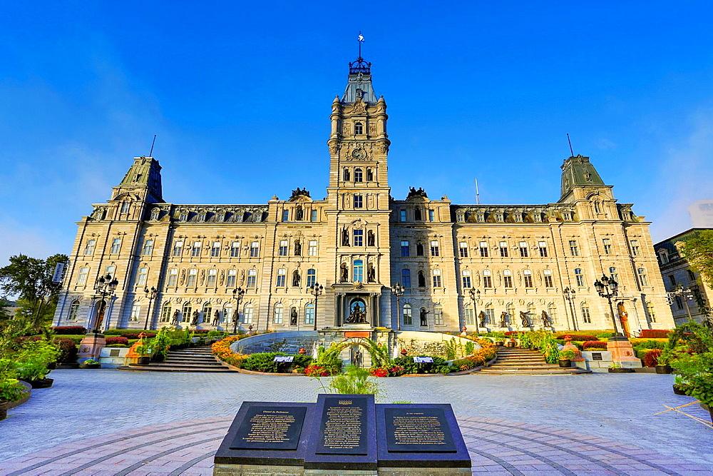 Canada , Quebec City, Parliament Bldg.