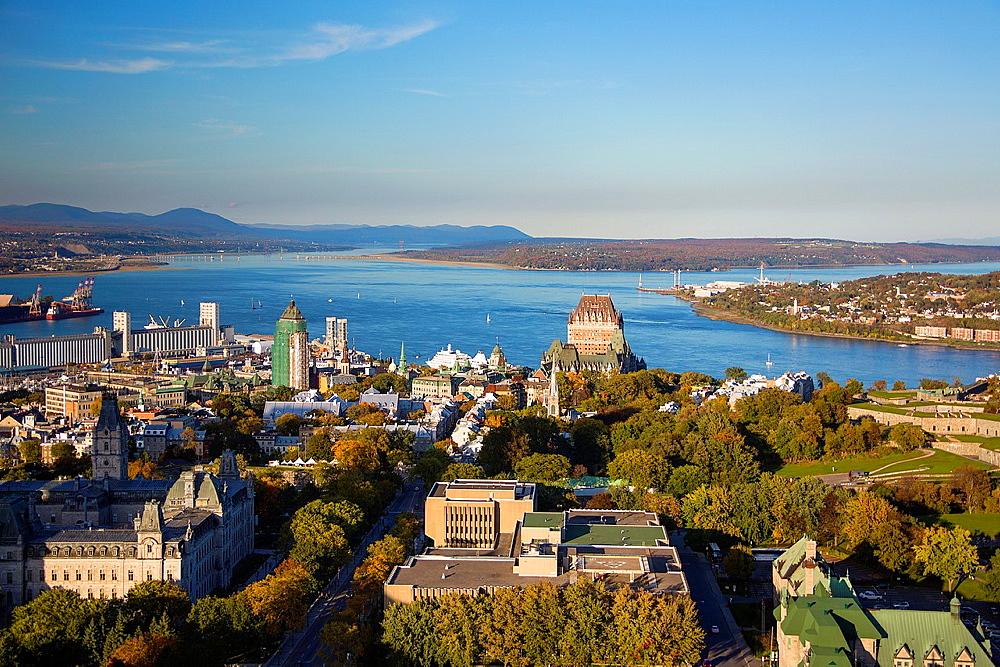 Canada , Quebec City,skyline , Panorama.