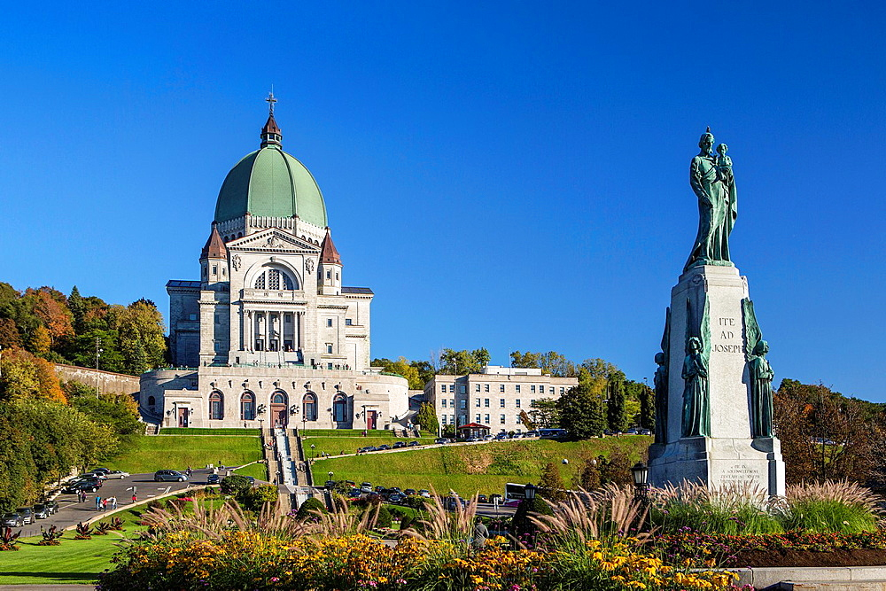 Canada , Quebec Province , Montreal City , St. Josepha¥s Oratory , Basilica, Mont Royal.