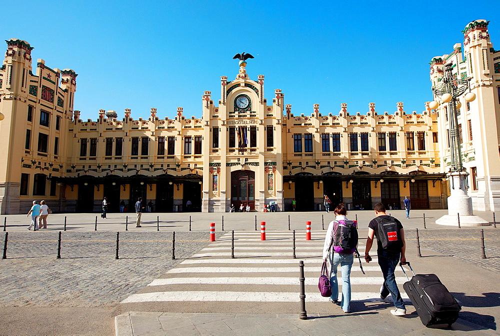 Railway station. Valencia. Comunidad Valenciana. Spain. - 817-450102