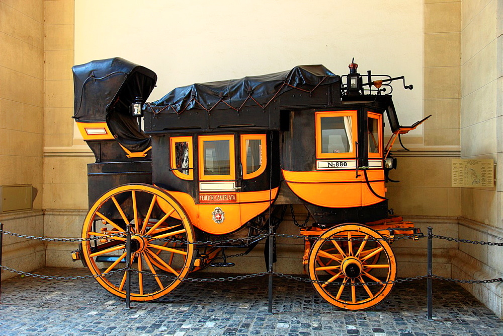 Old carriage, Zurich, Switzerland